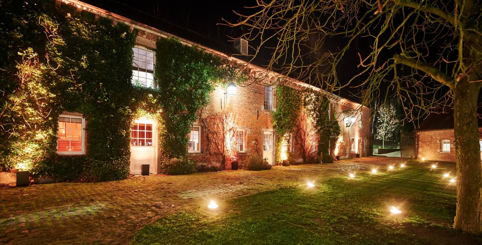 La ferme de Balingue House of Weddings feestzaal salle de fete lieu exceptionnel huwelijk mariage trouwen trouwzaal Brusse (5)