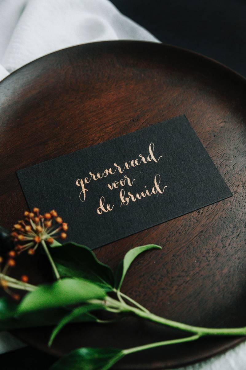Letters & Styling - Grafisch Ontwerp - Trouwuitnodiging - Uitnodiging huwelijk - trouwdecoratie - House of Weddings - 10
