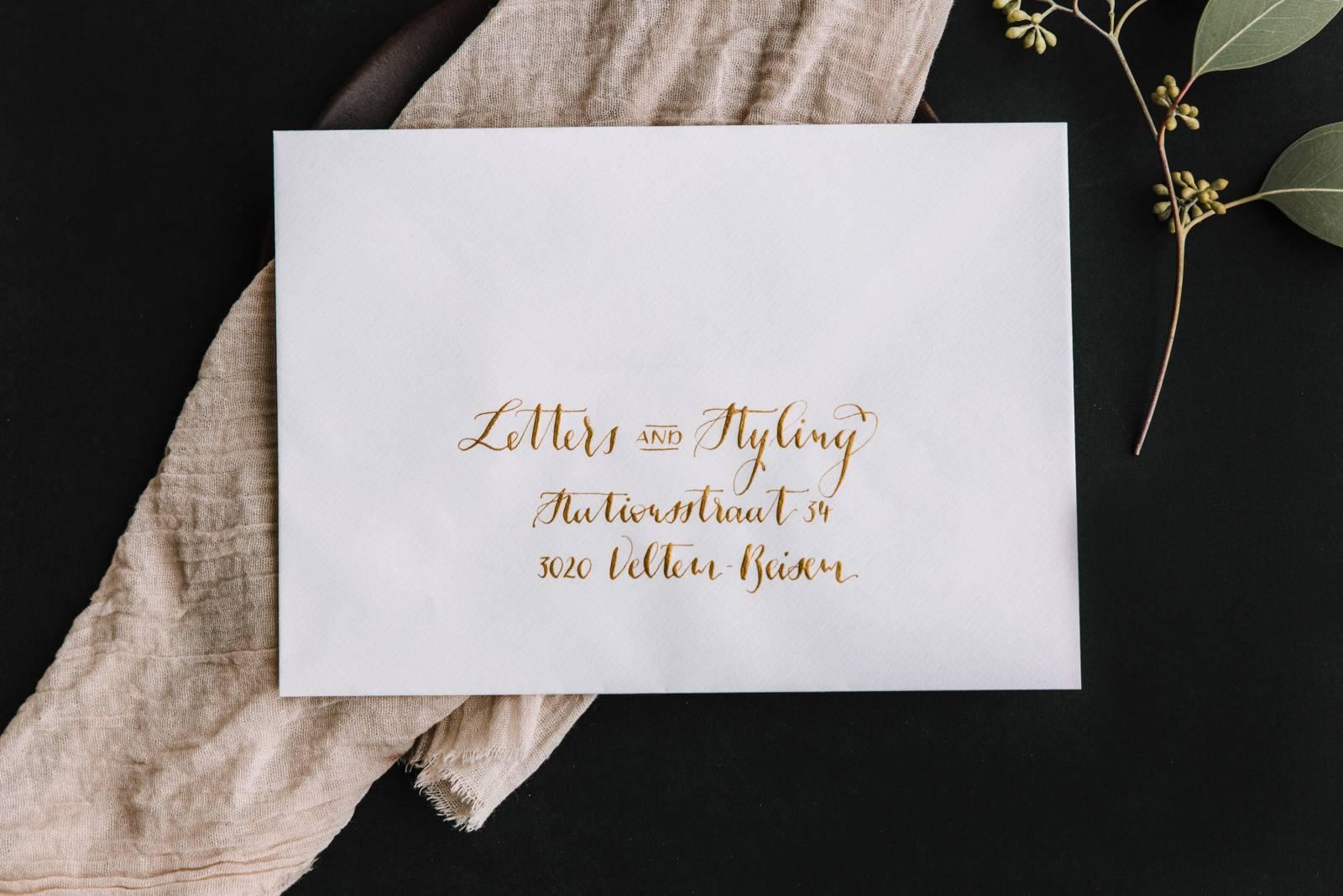 Letters & Styling - Grafisch Ontwerp - Trouwuitnodiging - Uitnodiging huwelijk - trouwdecoratie - House of Weddings - 15