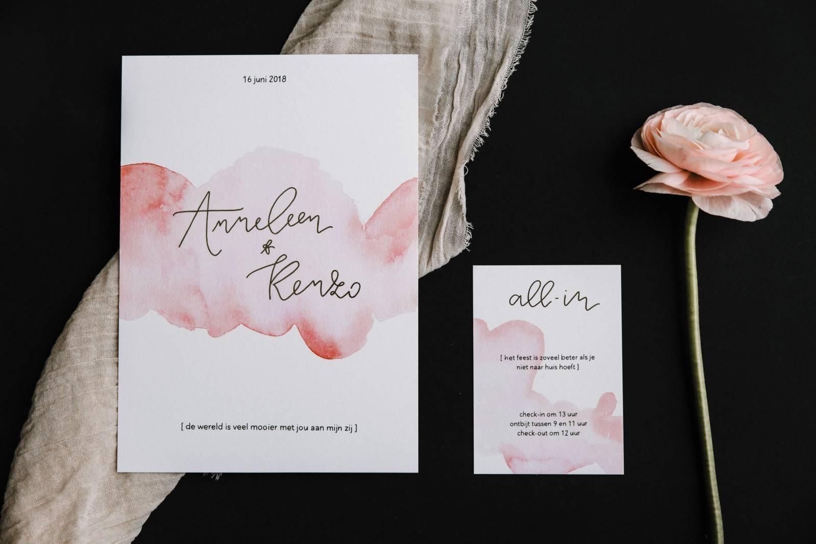 Letters & Styling - Grafisch Ontwerp - Trouwuitnodiging - Uitnodiging huwelijk - trouwdecoratie - House of Weddings - 16