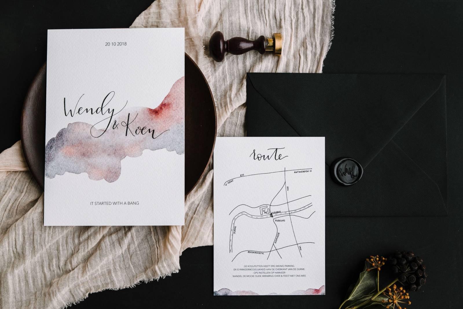 Letters & Styling - Grafisch Ontwerp - Trouwuitnodiging - Uitnodiging huwelijk - trouwdecoratie - House of Weddings - 18