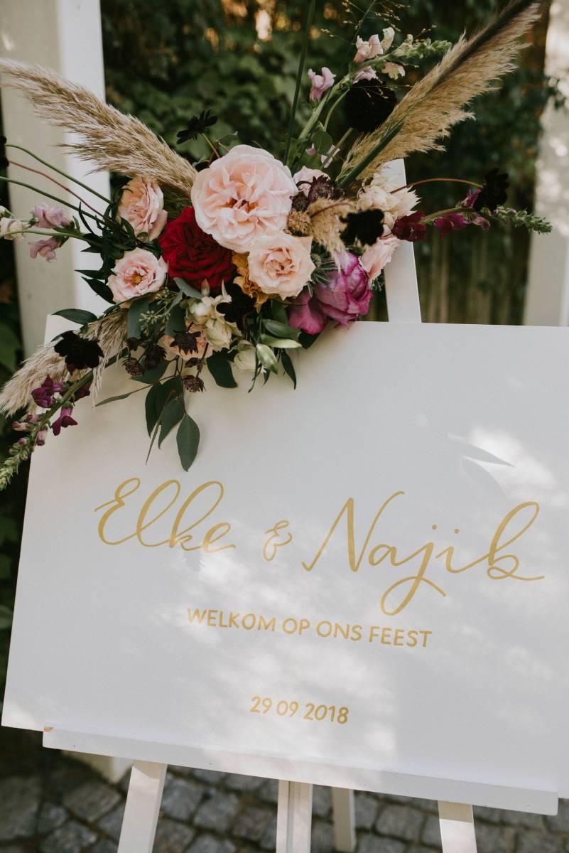 Letters & Styling - Grafisch Ontwerp - Trouwuitnodiging - Uitnodiging huwelijk - trouwdecoratie - House of Weddings - 2