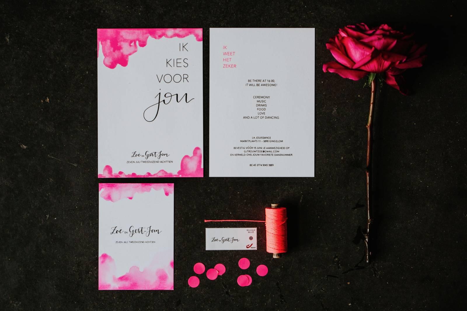 Letters & Styling - Grafisch Ontwerp - Trouwuitnodiging - Uitnodiging huwelijk - trouwdecoratie - House of Weddings - 24