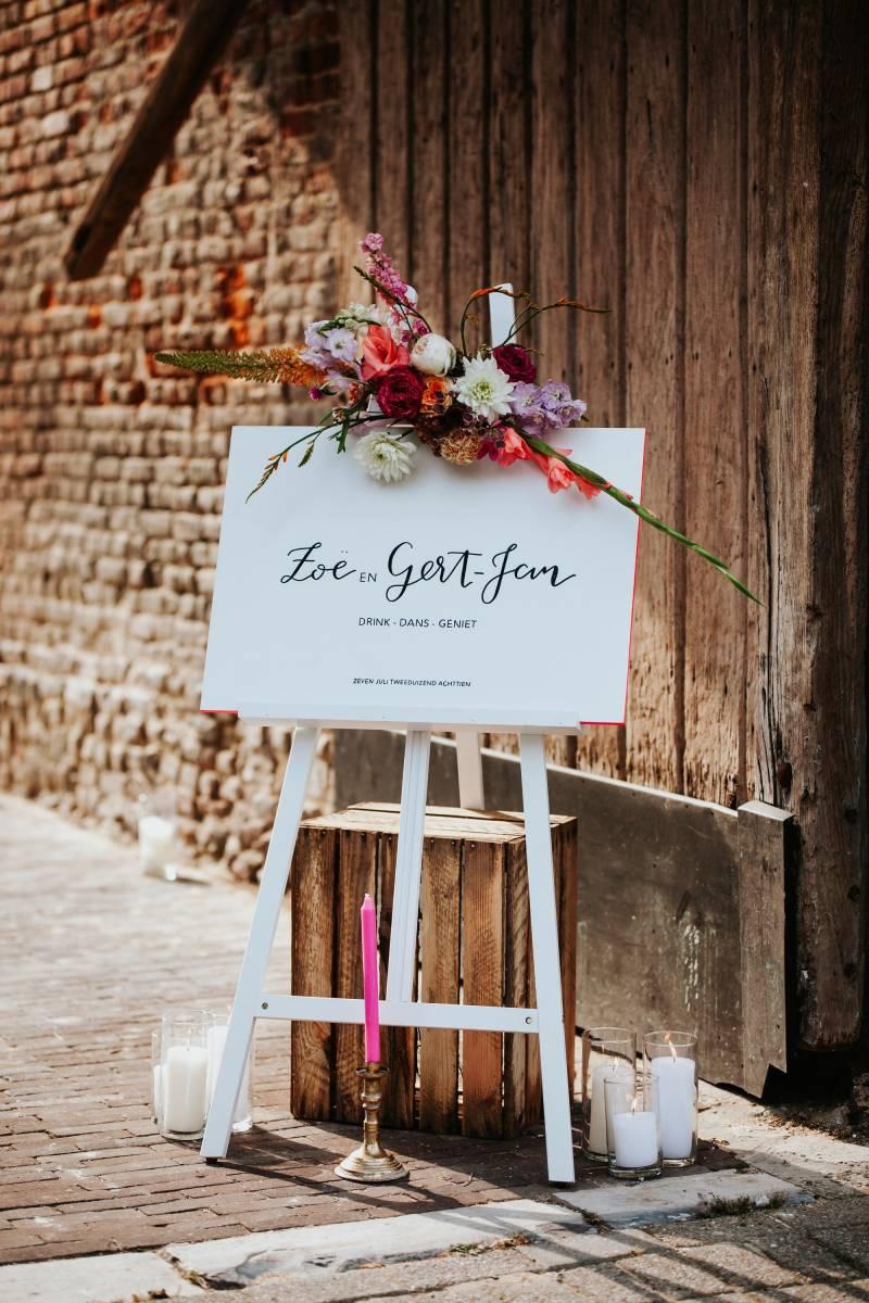 Letters & Styling - Grafisch Ontwerp - Trouwuitnodiging - Uitnodiging huwelijk - trouwdecoratie - House of Weddings - 25