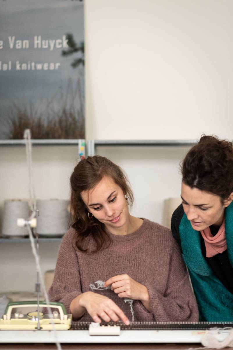 Lotte Van Huyck - Bridal Knitwear - Sjaals - Bridal workshop - Vrijgezellen activiteit - House of Weddings - 15