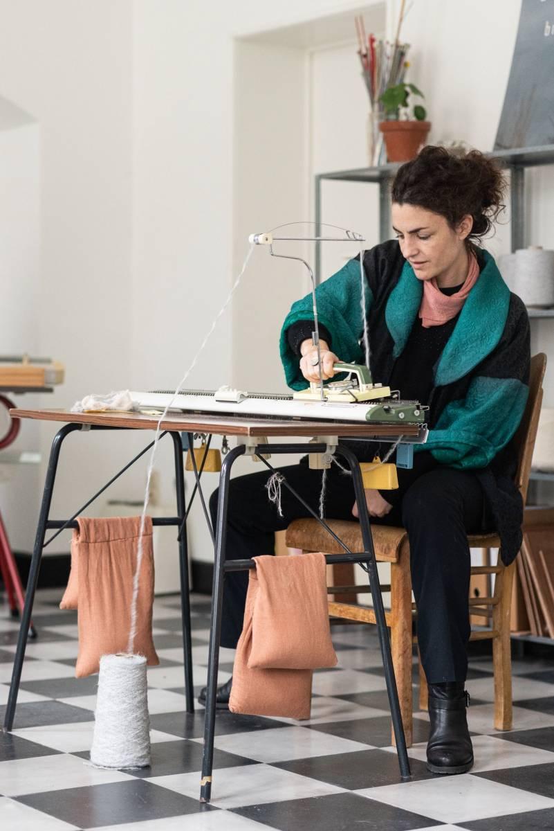 Lotte Van Huyck - Bridal Knitwear - Sjaals - Bridal workshop - Vrijgezellen activiteit - House of Weddings - 17