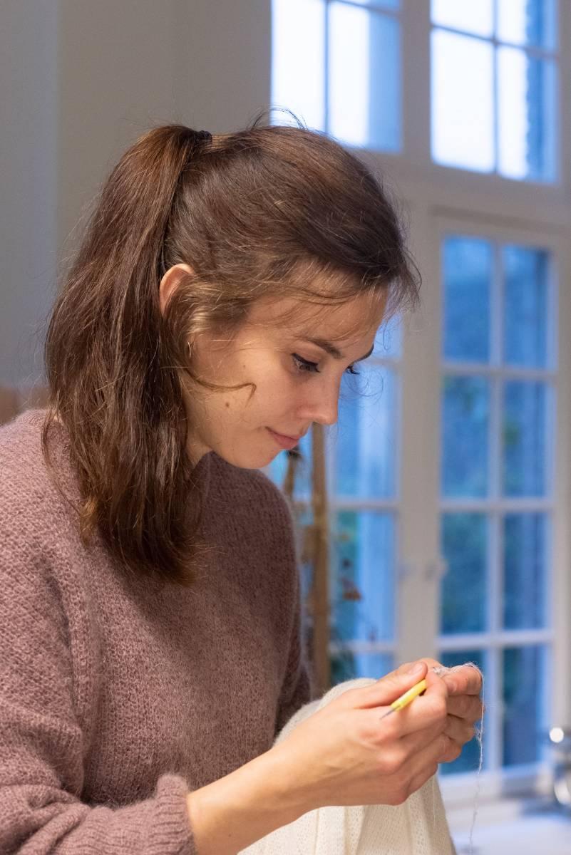 Lotte Van Huyck - Bridal Knitwear - Sjaals - Bridal workshop - Vrijgezellen activiteit - House of Weddings - 30