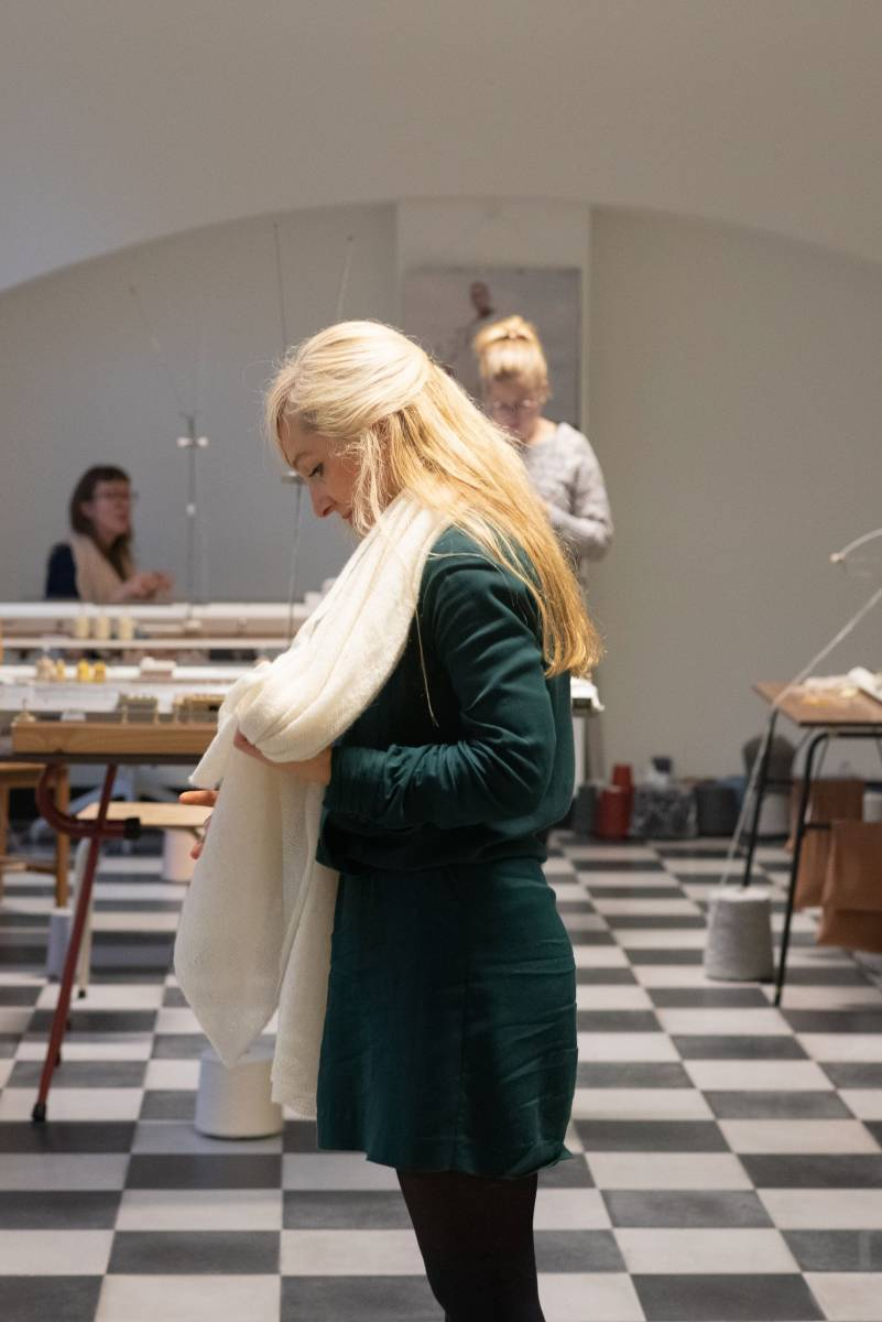 Lotte Van Huyck - Bridal Knitwear - Sjaals - Bridal workshop - Vrijgezellen activiteit - House of Weddings - 31