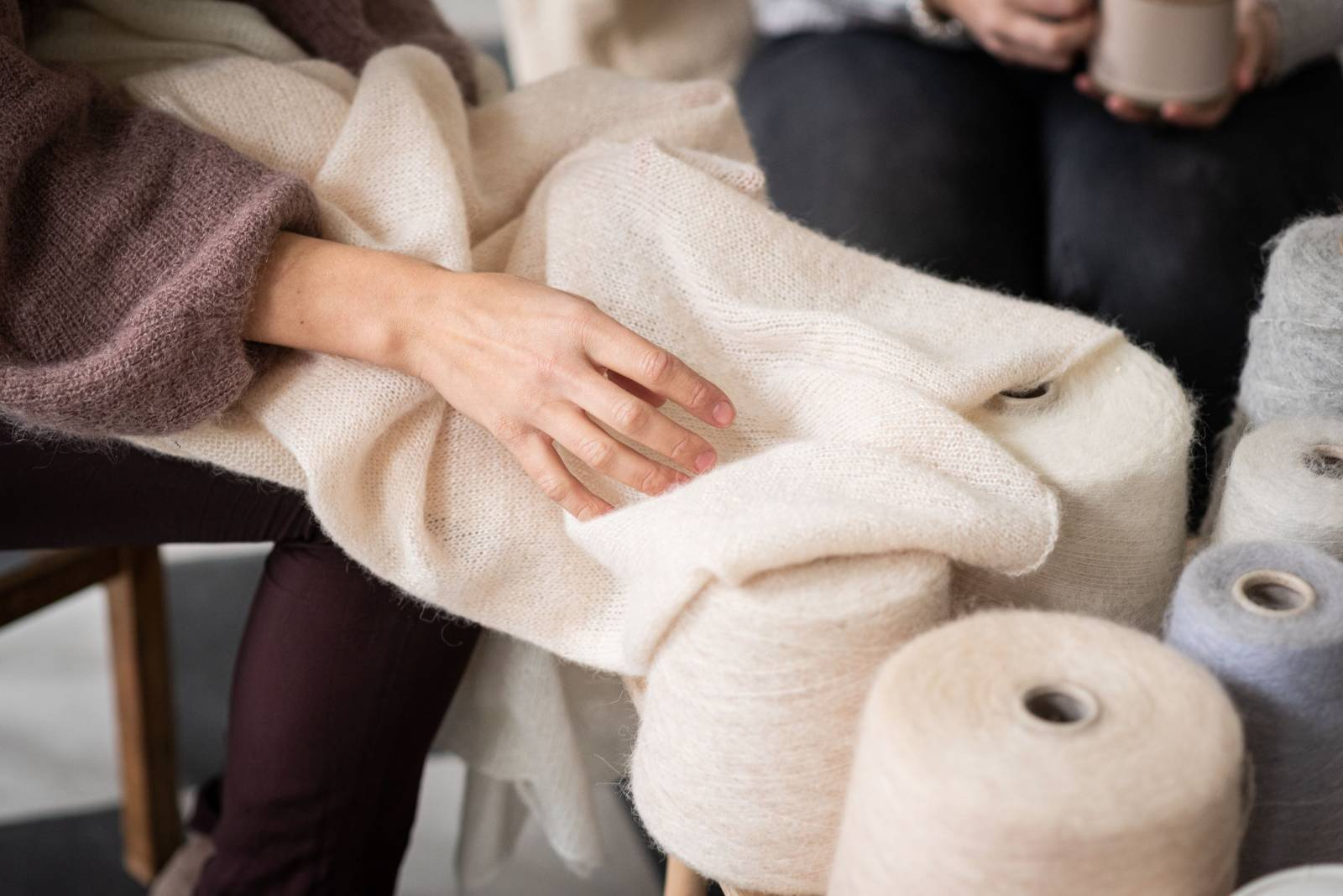 Lotte Van Huyck - Bridal Knitwear - Sjaals - Bridal workshop - Vrijgezellen activiteit - House of Weddings - 4