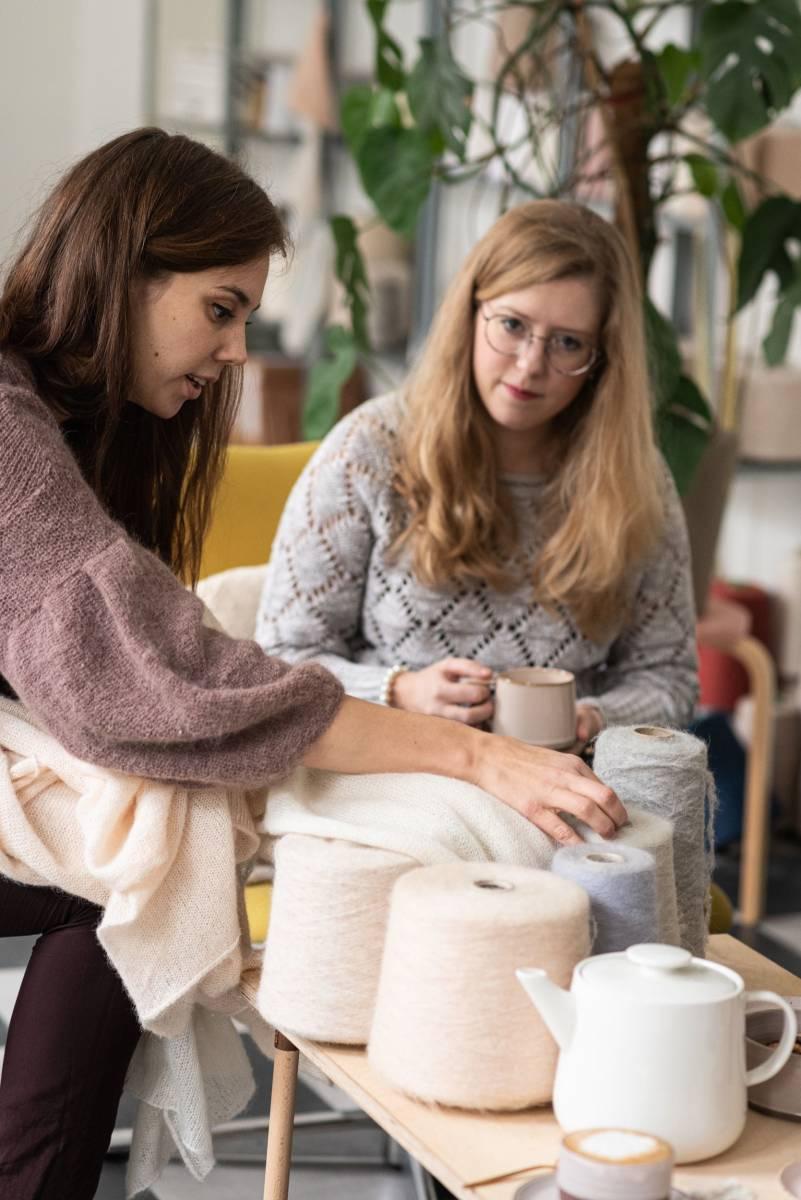 Lotte Van Huyck - Bridal Knitwear - Sjaals - Bridal workshop - Vrijgezellen activiteit - House of Weddings - 5