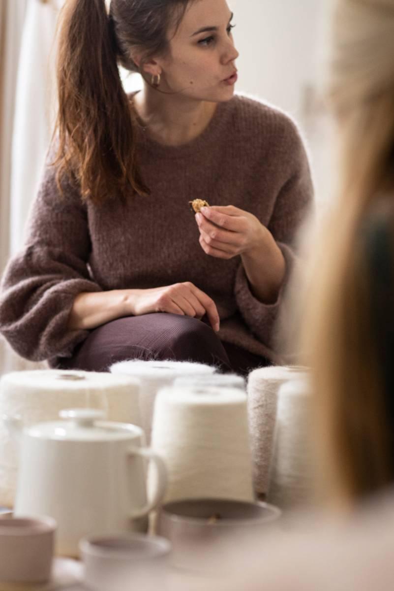 Lotte Van Huyck - Bridal Knitwear - Sjaals - Bridal workshop - Vrijgezellen activiteit - House of Weddings - 9