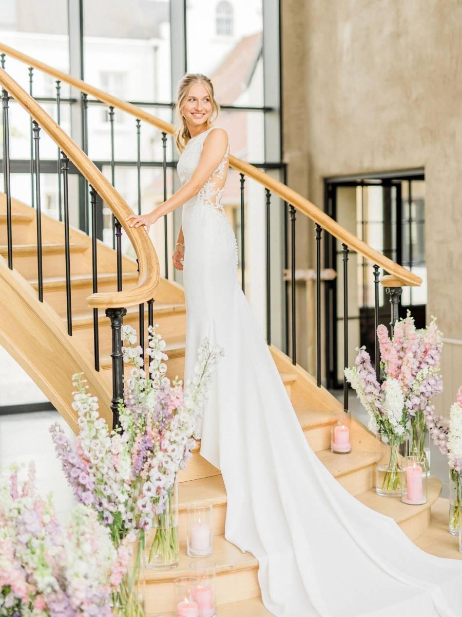 Maison Julie - Bruidsboeket - Bloemen huwelijk trouw bruiloft - Kelly & Jonas - Long Story Short - House of Weddings - 1