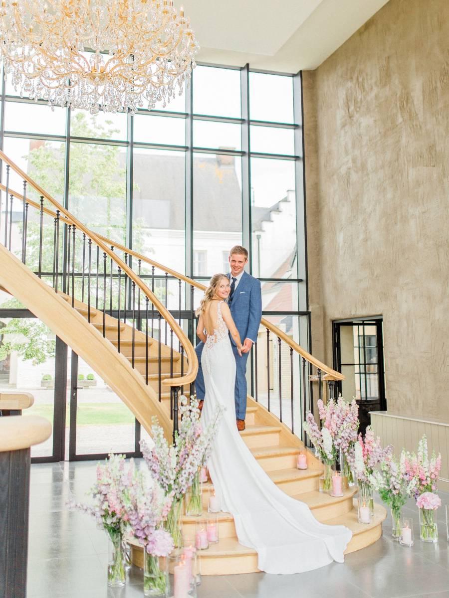 Maison Julie - Bruidsboeket - Bloemen huwelijk trouw bruiloft - Kelly & Jonas - Long Story Short - House of Weddings - 2