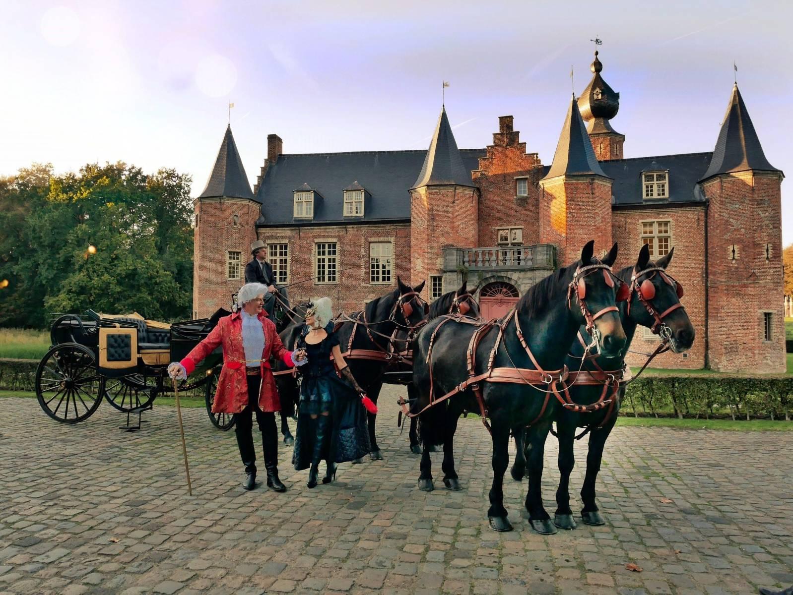 Manorhoeve - Paard en Koets - Vervoer - Ceremonievervoer - House of Weddings - 5