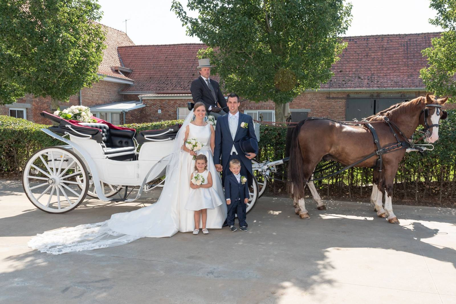 Manorhoeve - Trouwkoets - Ceremonievervoer - House of Weddings - 15