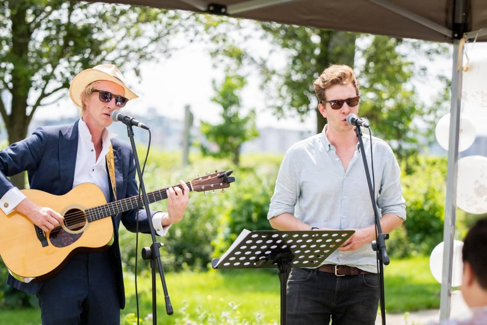 Mathieu & Guillaume artiest livemuziek zangers house of events (1)