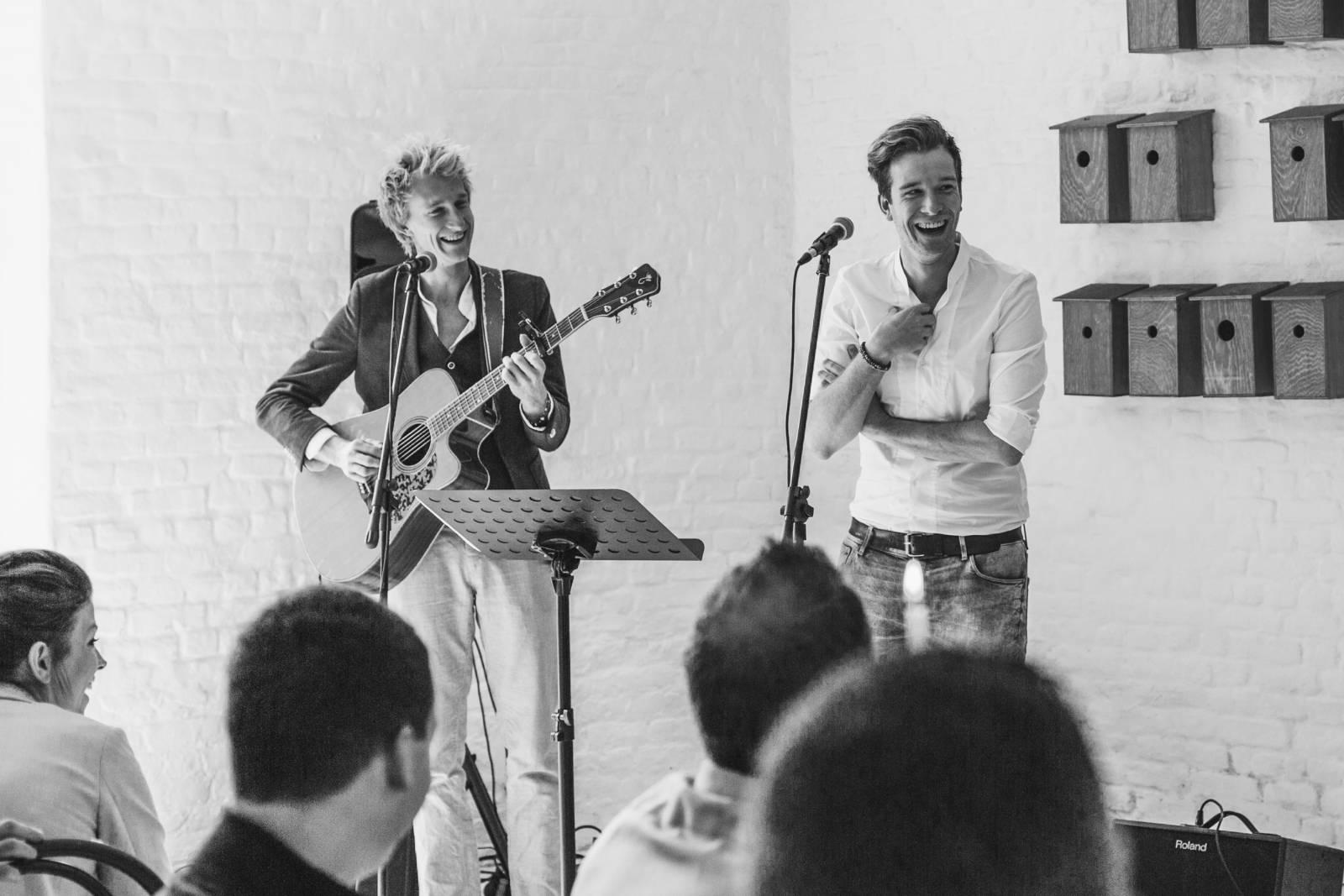 Mathieu & Guillaume artiest livemuziek zangers house of events (6)