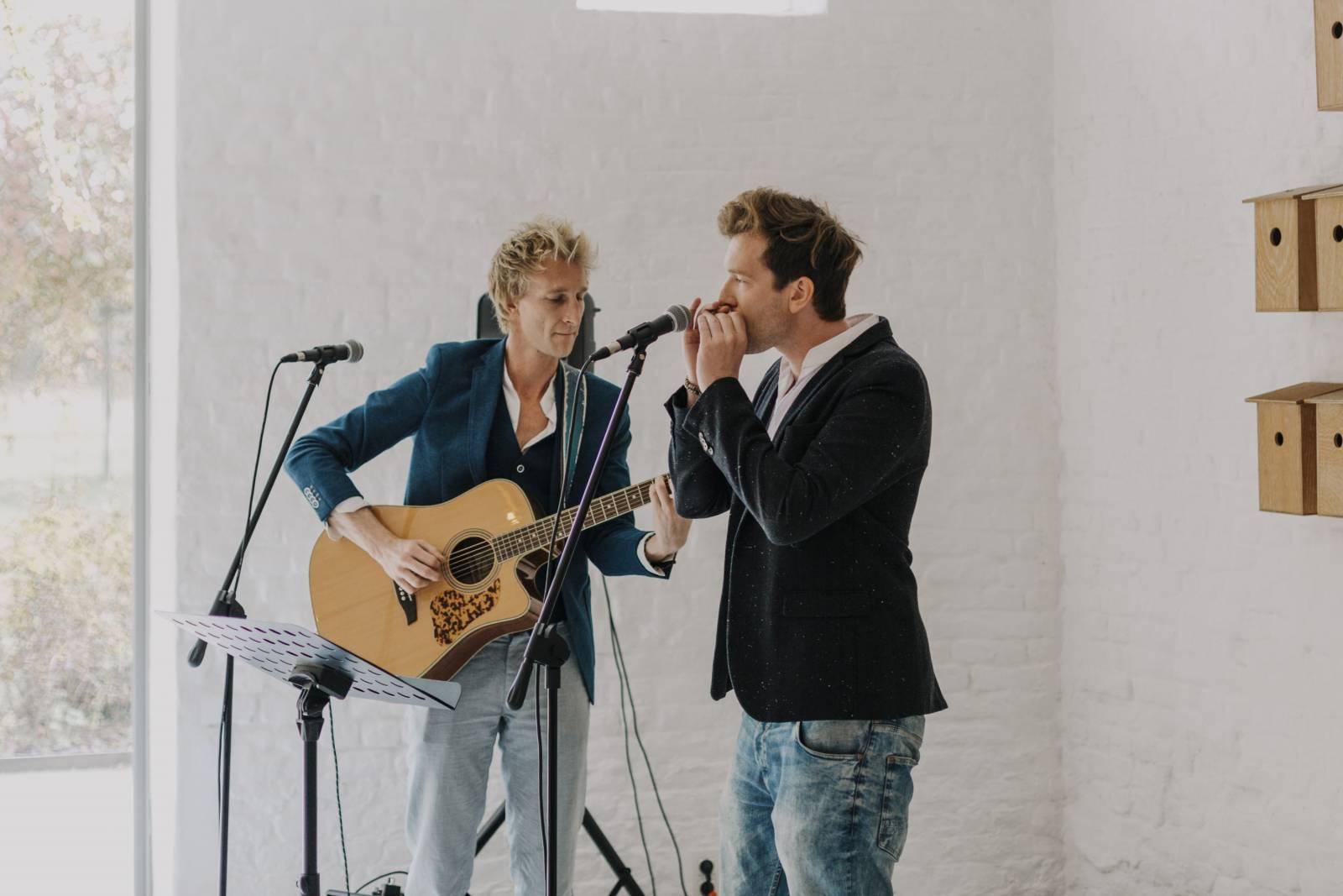 Mathieu & Guillaume artiest livemuziek zangers house of events (7)