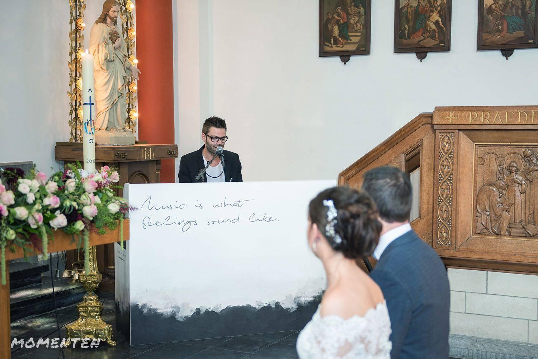 Momenten - Live muziek op je huwelijk - Zanger en pianist Andy Sergeant - House of Weddings - 10