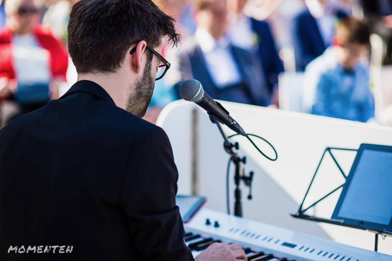 Momenten - Live muziek op je huwelijk - Zanger en pianist Andy Sergeant - House of Weddings - 12
