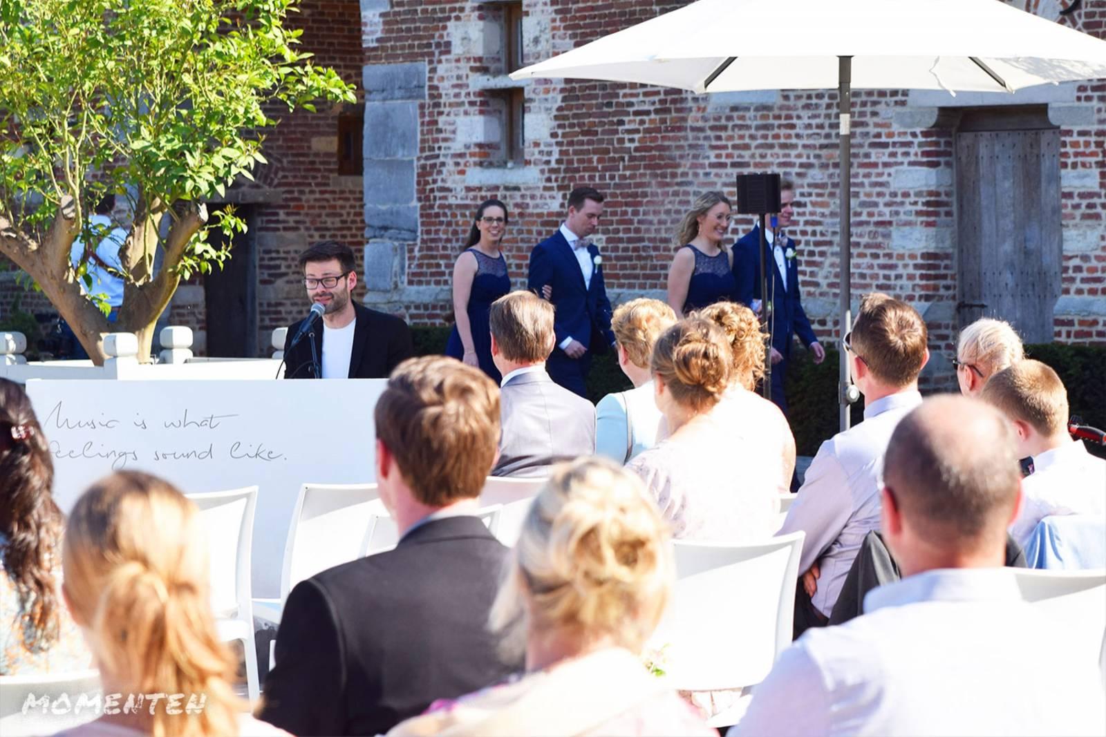 Momenten - Live muziek op je huwelijk - Zanger en pianist Andy Sergeant - House of Weddings (2)