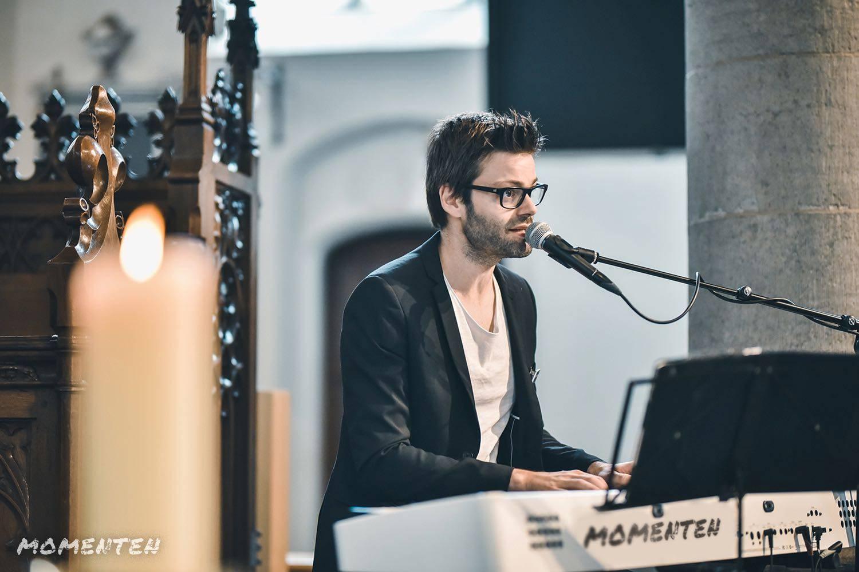 Momenten - Live muziek op je huwelijk - Zanger en pianist Andy Sergeant - House of Weddings - 4