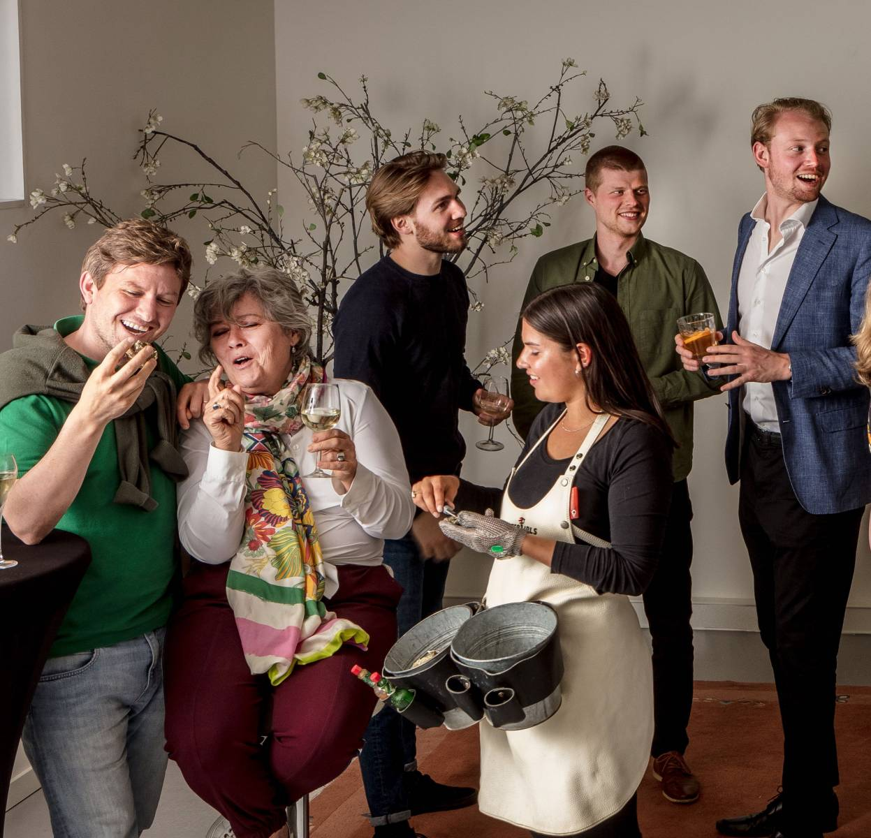 Oestercompagnie - Oesters op je trouw, huwelijk, bruiloft - Catering - Showcooking - House of Weddings - 9
