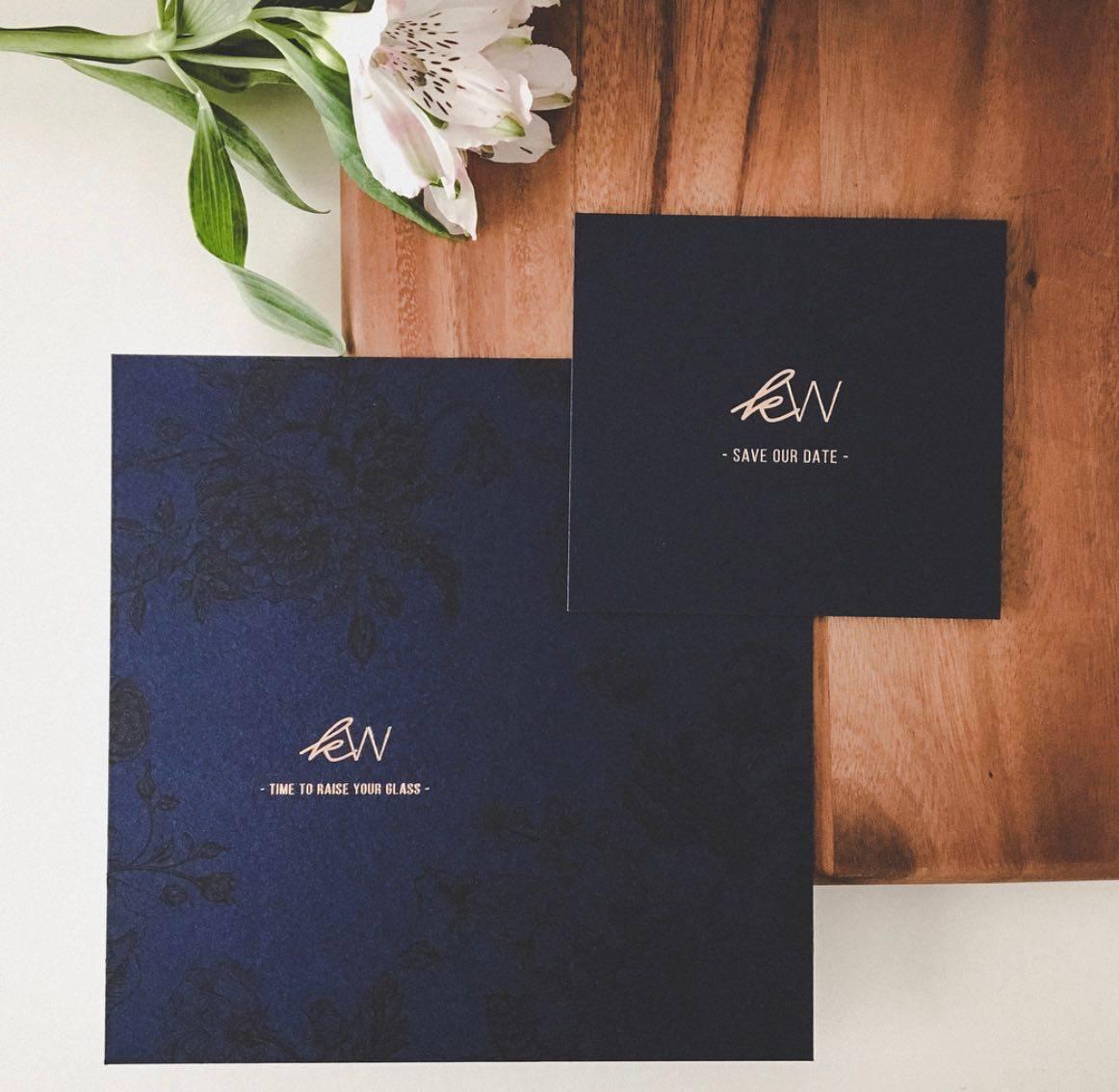 Scarabar - huwelijksuitnodigingen - grafisch ontwerp - House of Weddings  - 1