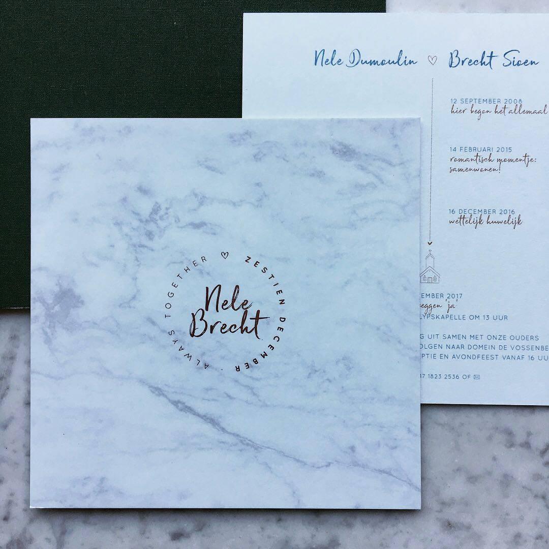 Scarabar - huwelijksuitnodigingen - grafisch ontwerp - House of Weddings  - 16