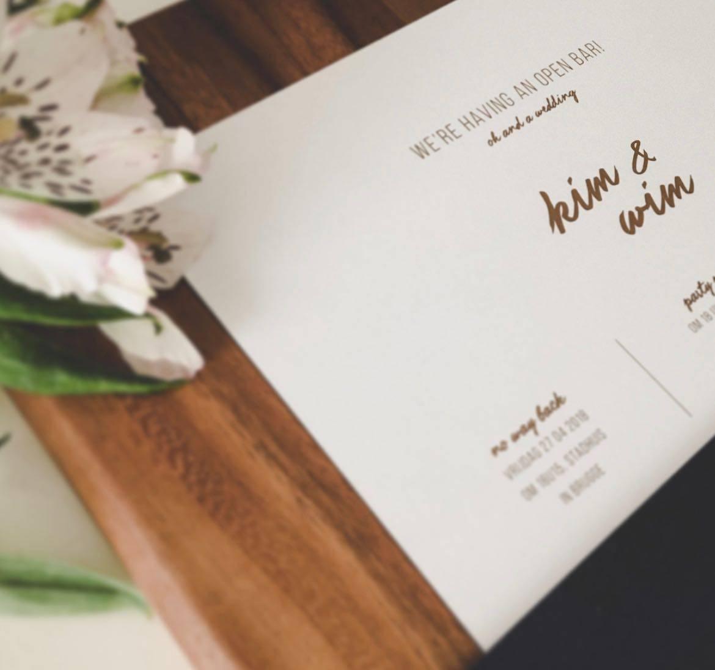 Scarabar - huwelijksuitnodigingen - grafisch ontwerp - House of Weddings  - 4