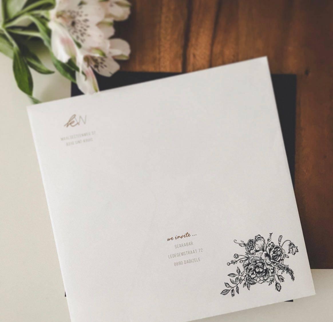 Scarabar - huwelijksuitnodigingen - grafisch ontwerp - House of Weddings  - 5