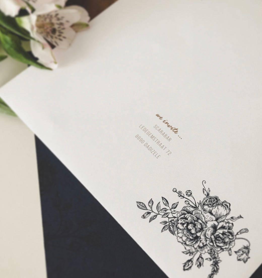 Scarabar - huwelijksuitnodigingen - grafisch ontwerp - House of Weddings  - 6