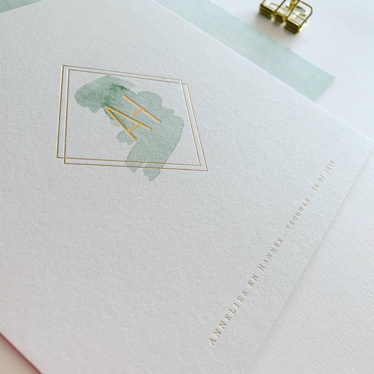 Scarabar - Trouwuitnodiging - Huwelijksuitnodiging - Drukwerk - Huwelijk - Trouw - Bruiloft - House of Weddings - 15