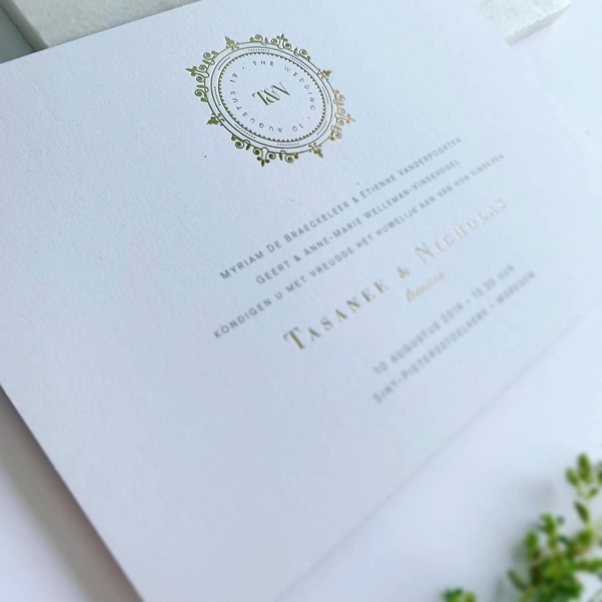 Scarabar - Trouwuitnodiging - Huwelijksuitnodiging - Drukwerk - Huwelijk - Trouw - Bruiloft - House of Weddings - 27