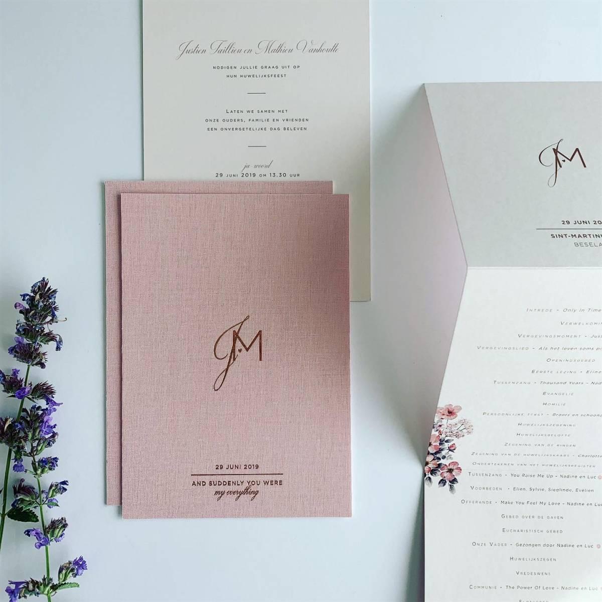 Scarabar - Trouwuitnodiging - Huwelijksuitnodiging - Drukwerk - Huwelijk - Trouw - Bruiloft - House of Weddings - 29