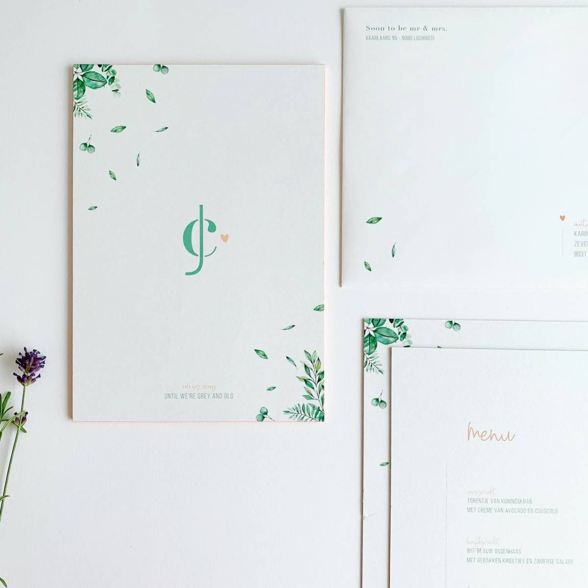 Scarabar - Trouwuitnodiging - Huwelijksuitnodiging - Drukwerk - Huwelijk - Trouw - Bruiloft - House of Weddings - 30