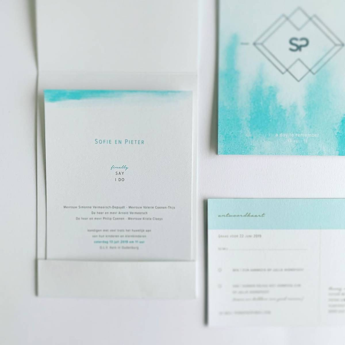 Scarabar - Trouwuitnodiging - Huwelijksuitnodiging - Drukwerk - Huwelijk - Trouw - Bruiloft - House of Weddings - 31