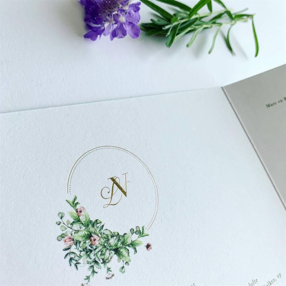 Scarabar - Trouwuitnodiging - Huwelijksuitnodiging - Drukwerk - Huwelijk - Trouw - Bruiloft - House of Weddings - 35
