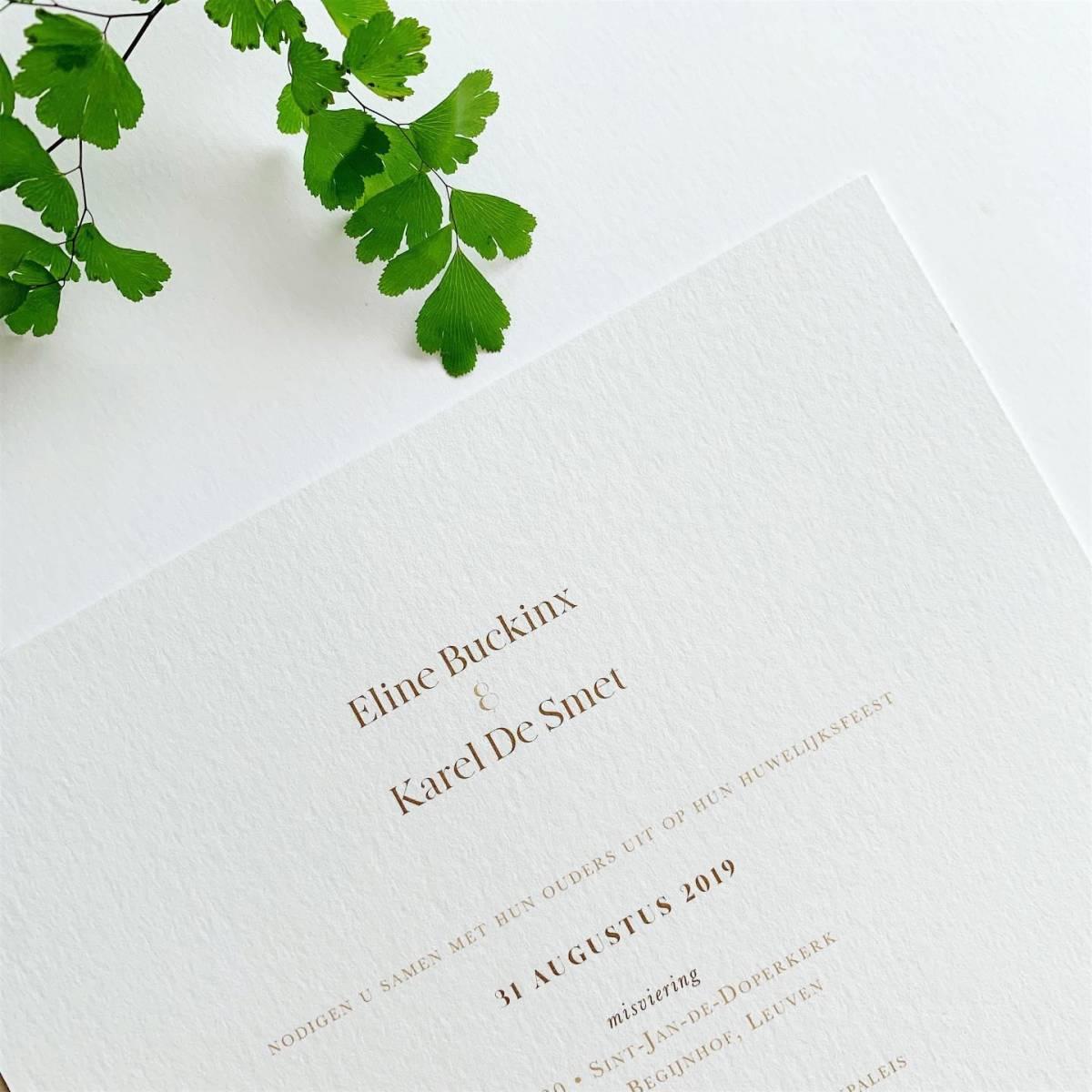 Scarabar - Trouwuitnodiging - Huwelijksuitnodiging - Drukwerk - Huwelijk - Trouw - Bruiloft - House of Weddings - 39