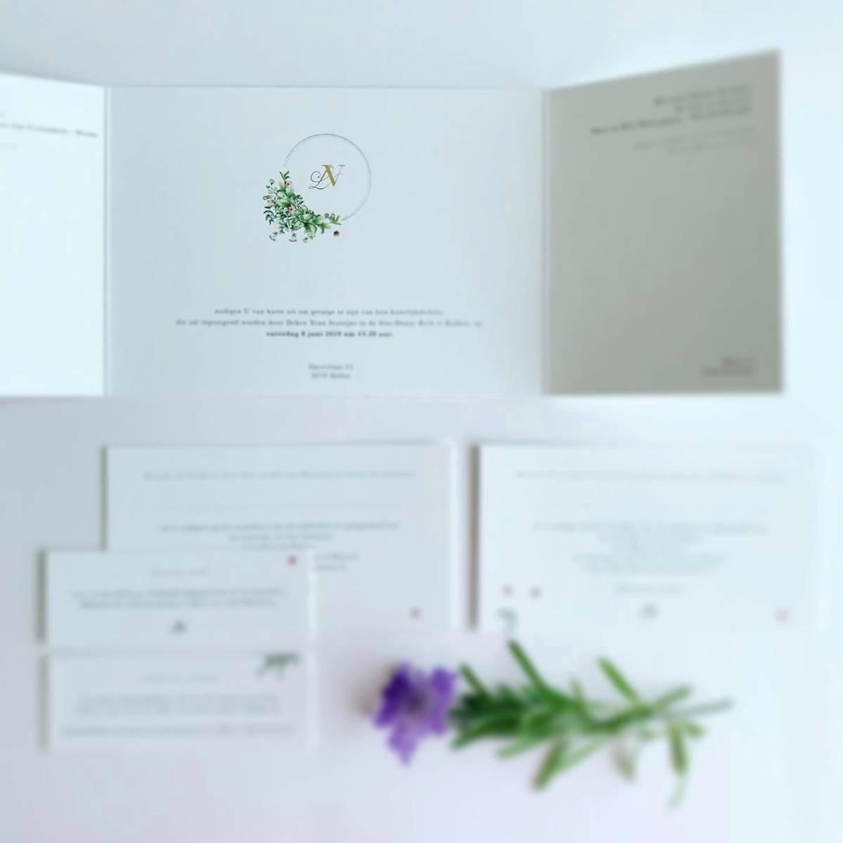 Scarabar - Trouwuitnodiging - Huwelijksuitnodiging - Drukwerk - Huwelijk - Trouw - Bruiloft - House of Weddings - 40