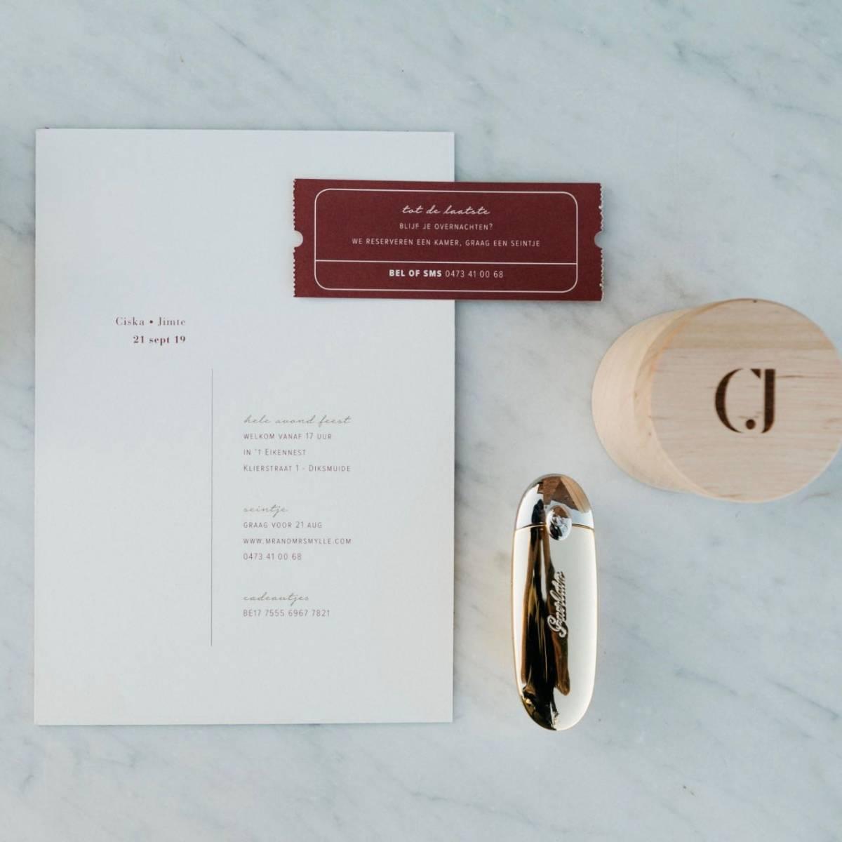 Scarabar - Trouwuitnodiging - Huwelijksuitnodiging - Drukwerk - Huwelijk - Trouw - Bruiloft - House of Weddings - 48