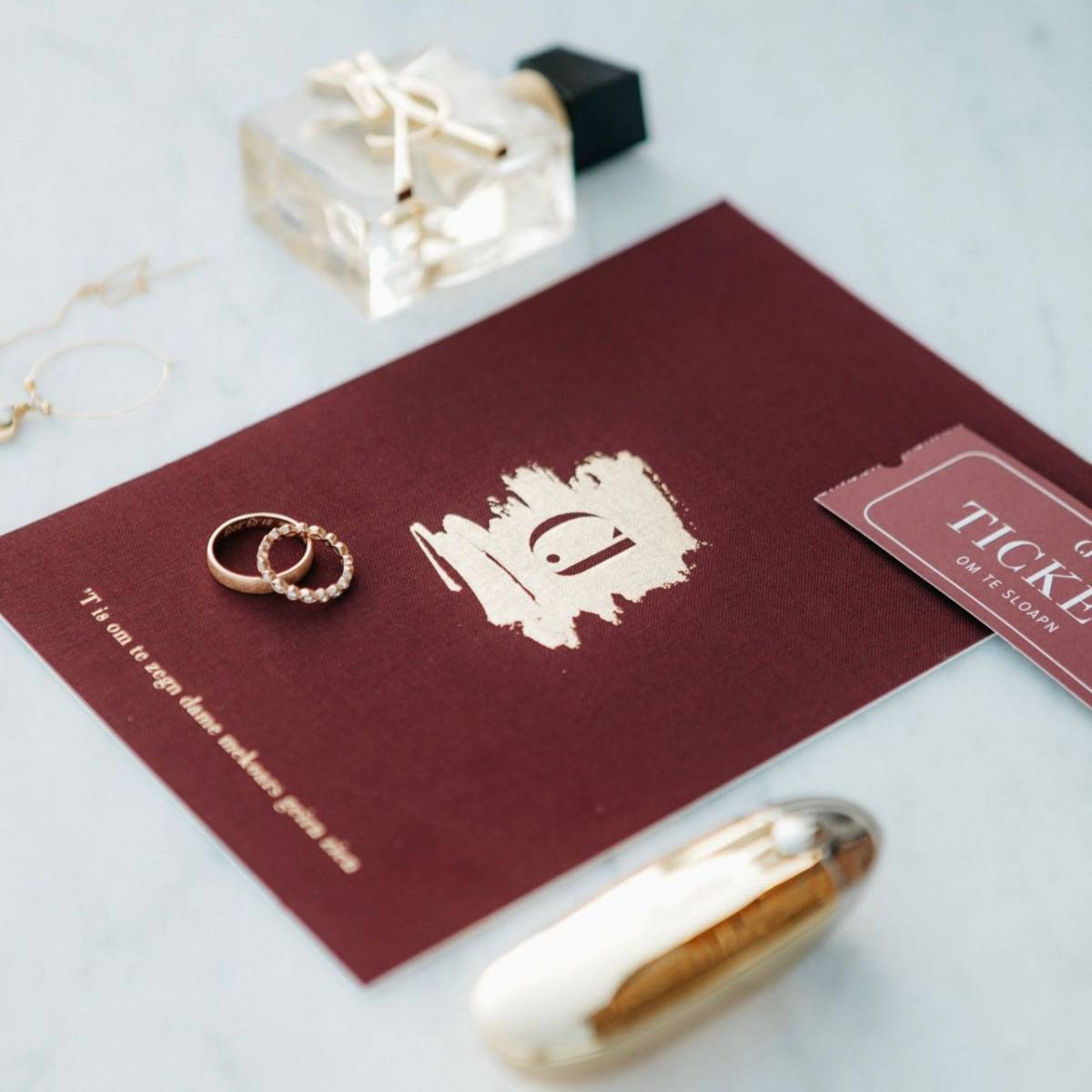 Scarabar - Trouwuitnodiging - Huwelijksuitnodiging - Drukwerk - Huwelijk - Trouw - Bruiloft - House of Weddings - 49
