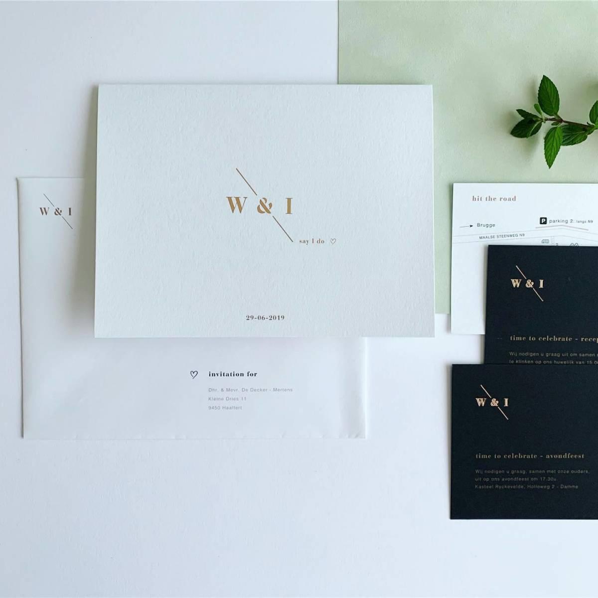 Scarabar - Trouwuitnodiging - Huwelijksuitnodiging - Drukwerk - Huwelijk - Trouw - Bruiloft - House of Weddings - 9