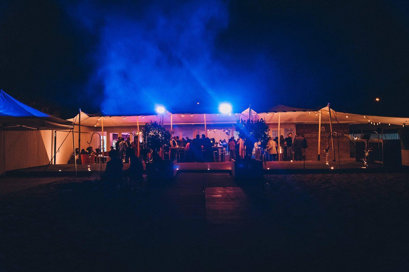Strantwerpen - Feestzaal - Trouwzaal - Trouwen op het Strand - Fotograaf Aiki Photography - House of Weddings - 8