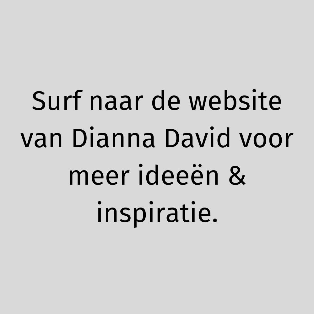 Surf naar de website van Dianna David voor meer ideeën