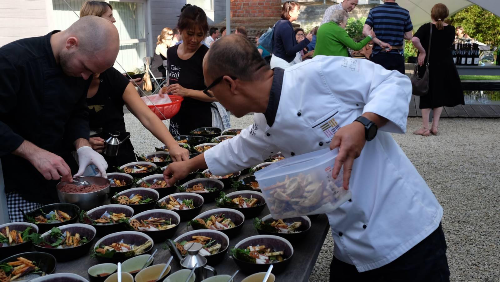 Table d'Ho - foodtruck - House of Weddings 3 - 2