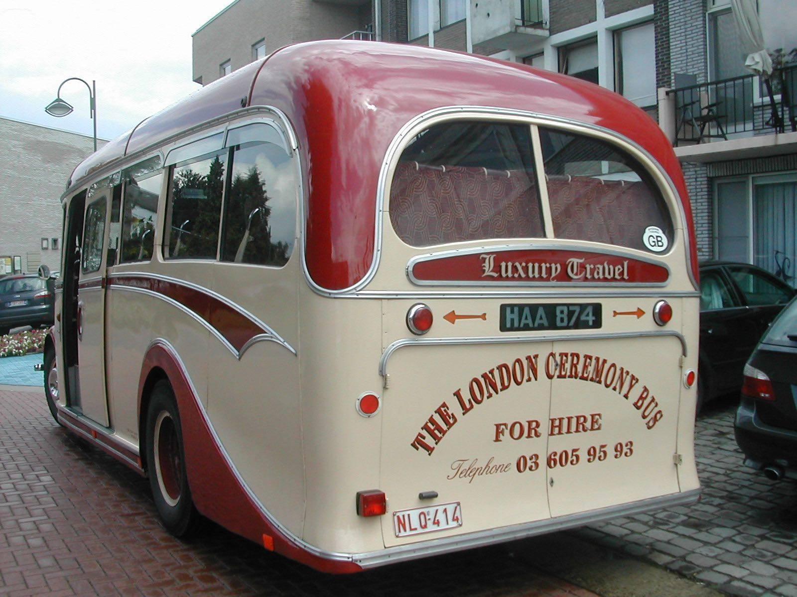 The London Ceremony Bus - Trouwvervoer - Ceremonievervoer - Bus - House of Weddings - 12