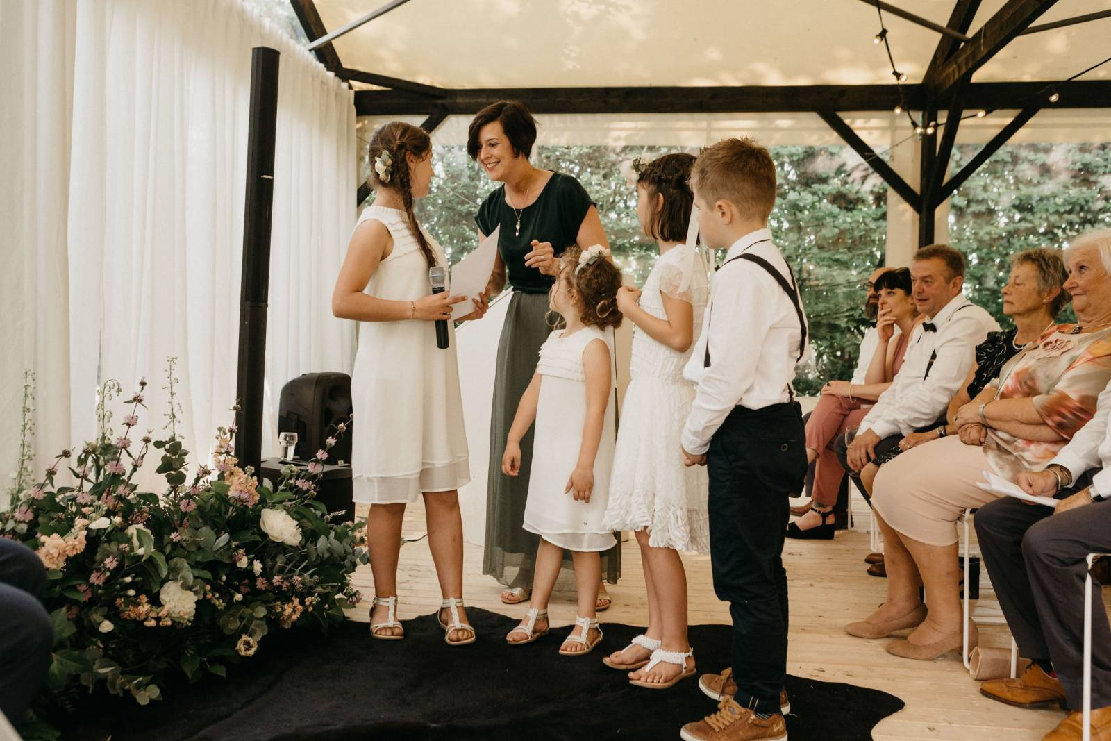 Tine De Donder - Huwelijksceremonie - Ceremoniespreker - Mathias Hannes - House of Weddings 30