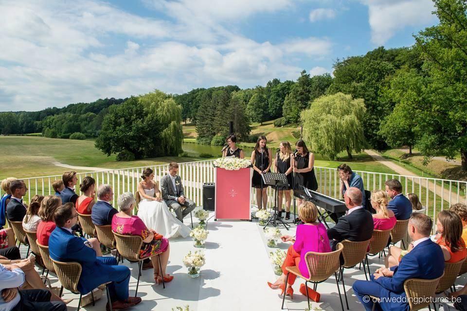 Tine De Donder - Huwelijksceremonie - Ceremoniespreker - Raf Ketelslagers en Ruud Lathouwers - House of Weddings 14