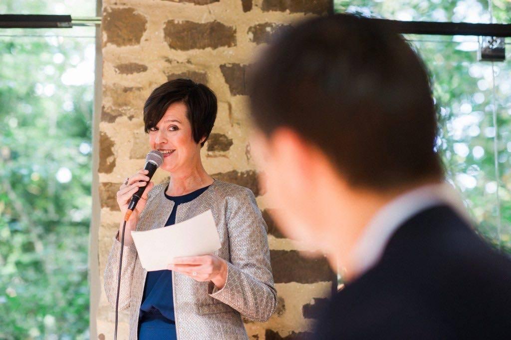 Tine De Donder - Huwelijksceremonie - Ceremoniespreker - Wesley Nulens - House of Weddings 1